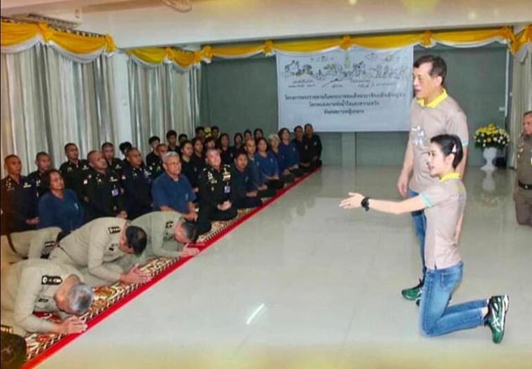 Tayland Kralının görüntüleri olay oldu, iddialar peş peşe geldi