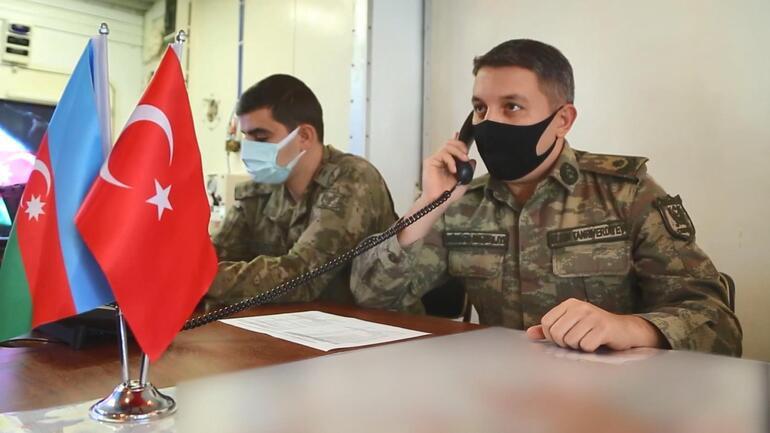 Azerbaycan ve Türk ordularından ortak tatbikat