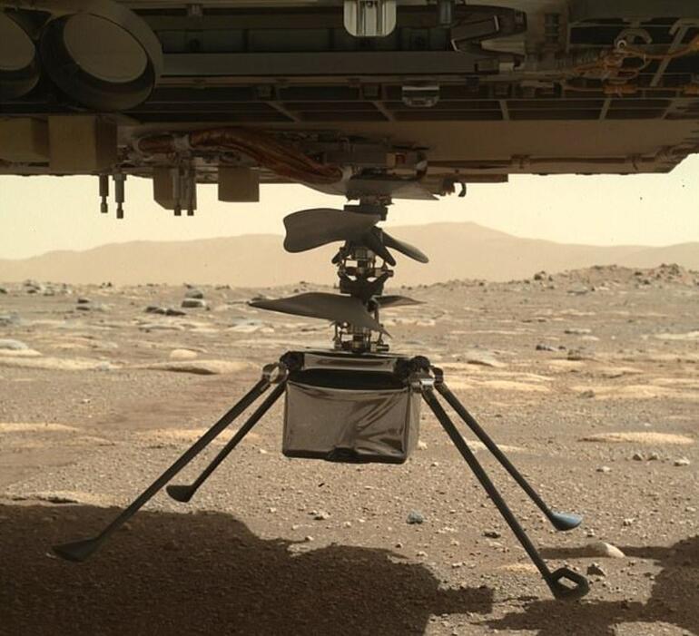 Mars'taki ilk helikopter uçuşu ertelendi