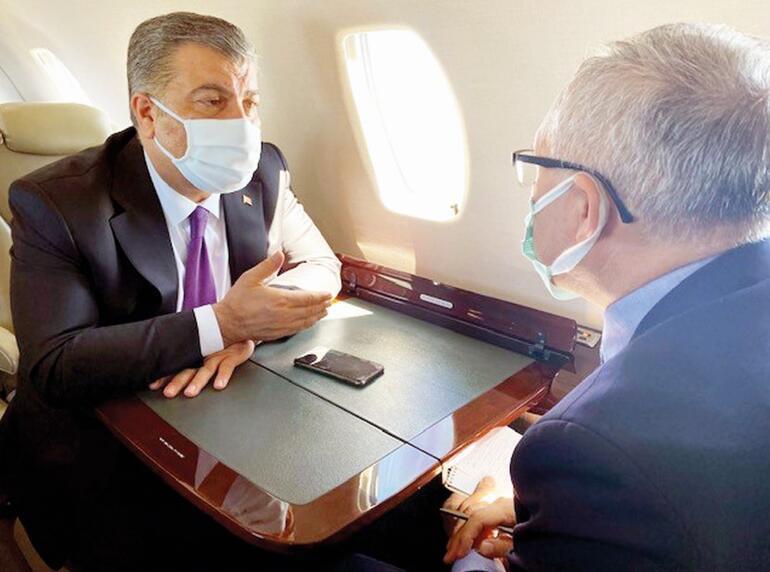 Sağlık Bakanı Fahrettin Koca açıkladı... Uğur Şahinle gece yarısı telefonu.. Yaz hedefi: 18 yaş ve üstüne de aşı
